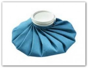 Ice bag for pinched nerve