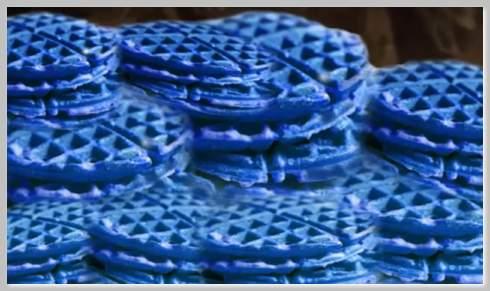 Sti blue waffle
