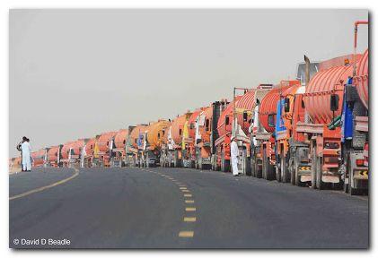 Dubai Poop Trucks